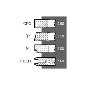 Segmenti motor Same Ø 98 MM – STD