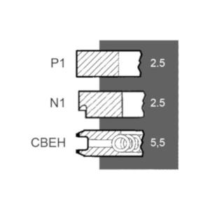 Segmenti motor Fiat Ø 100 mm