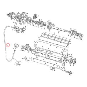 Cablu turatie batator combina New Holland 2430 mm